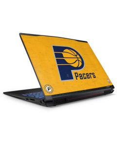 Indiana Pacers Distressed GP62X Leopard Gaming Laptop Skin