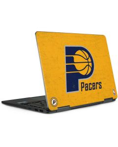 Indiana Pacers Distressed Notebook 9 Pro 13in (2017) Skin