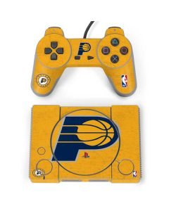 Indiana Pacers Distressed PlayStation Classic Bundle Skin