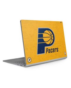 Indiana Pacers Distressed Surface Book 2 13.5in Skin
