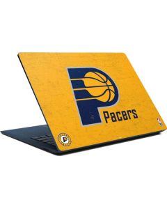 Indiana Pacers Distressed Surface Laptop Skin