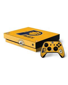 Indiana Pacers Distressed Xbox One X Bundle Skin