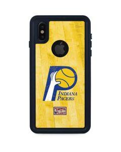 Indiana Pacers Hardwood Classics iPhone XS Waterproof Case