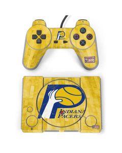 Indiana Pacers Hardwood Classics PlayStation Classic Bundle Skin