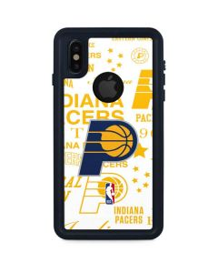 Indiana Pacers Historic Blast iPhone XS Waterproof Case