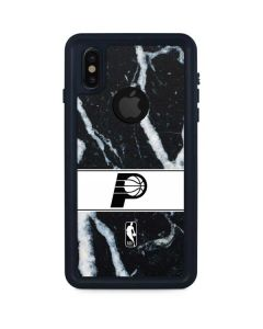 Indiana Pacers Marble iPhone XS Waterproof Case