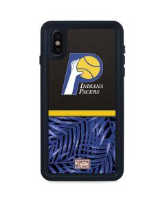 Indiana Pacers Retro Palms iPhone XS Max Waterproof Case