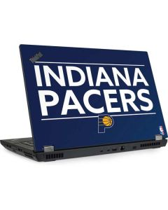 Indiana Pacers Standard - Blue Lenovo ThinkPad Skin