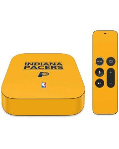 Indiana Pacers Standard - Yellow Apple TV Skin