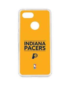 Indiana Pacers Standard - Yellow Google Pixel 3 Clear Case
