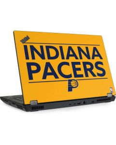 Indiana Pacers Standard - Yellow Lenovo ThinkPad Skin