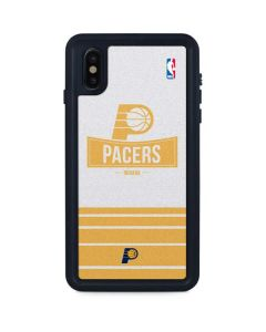 Indiana Pacers Static iPhone XS Max Waterproof Case