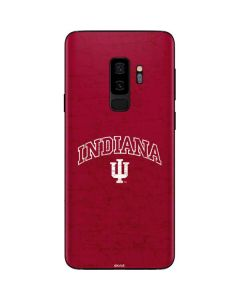 Indiana University Distressed Galaxy S9 Plus Skin