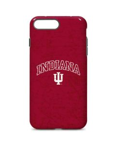 Indiana University Distressed iPhone 8 Plus Pro Case
