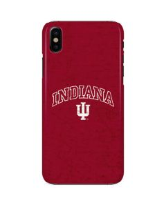 Indiana University Distressed iPhone X Lite Case