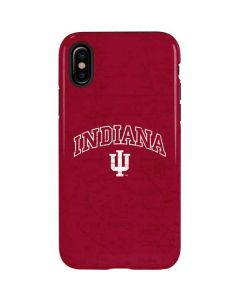 Indiana University Distressed iPhone X Pro Case