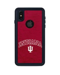 Indiana University Distressed iPhone X Waterproof Case