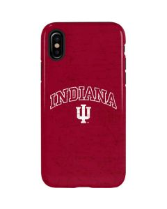Indiana University Distressed iPhone XS Max Pro Case