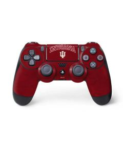 Indiana University Distressed PS4 Controller Skin