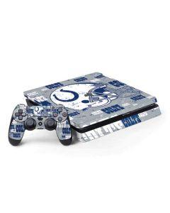 Indianapolis Colts - Blast PS4 Slim Bundle Skin