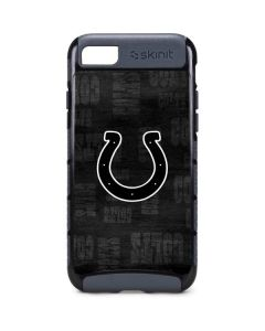 Indianapolis Colts Black & White iPhone 8 Cargo Case
