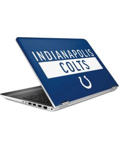 Indianapolis Colts Blue Performance Series HP Pavilion Skin