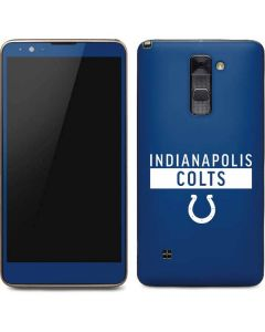 Indianapolis Colts Blue Performance Series Stylo 2 Skin