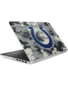 Indianapolis Colts Camo HP Pavilion Skin