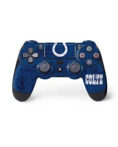 Indianapolis Colts Distressed PS4 Controller Skin