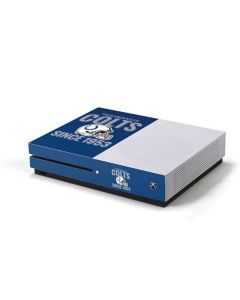 Indianapolis Colts Helmet Xbox One S Console Skin