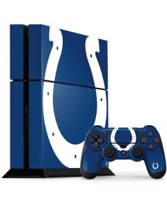 Indianapolis Colts Large Logo PS4 Console and Controller Bundle Skin