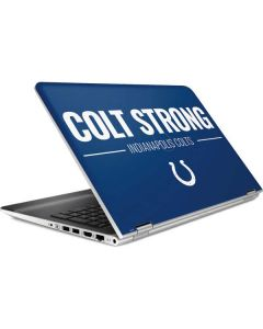 Indianapolis Colts Team Motto HP Pavilion Skin