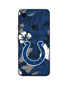 Indianapolis Colts Tropical Print Google Pixel 3a Skin