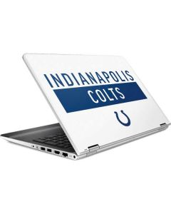 Indianapolis Colts White Performance Series HP Pavilion Skin