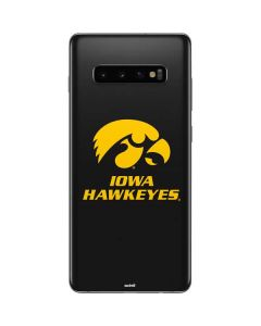 Iowa Hawkeyes Galaxy S10 Plus Skin