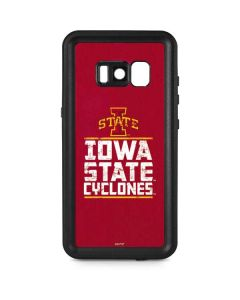 Iowa State Cyclones Galaxy S8 Waterproof Case