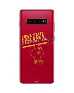 Iowa State Est 1858 Galaxy S10 Plus Skin