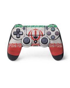 Iran Flag Distressed PS4 Pro/Slim Controller Skin