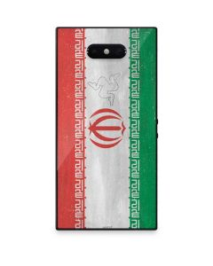 Iran Flag Distressed Razer Phone 2 Skin