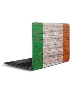 Ireland Flag Dark Wood Zenbook UX305FA 13.3in Skin