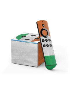 Ireland Flag Distressed Fire TV Cube Skin