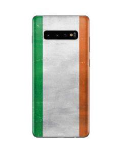 Ireland Flag Distressed Galaxy S10 Plus Skin