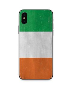 Ireland Flag Distressed iPhone XS Skin