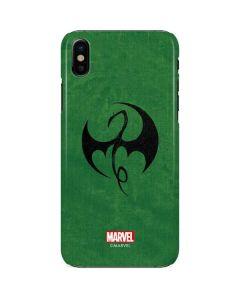 Iron Fist Dragon Symbol iPhone X Lite Case