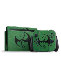 Iron Fist Dragon Symbol Nintendo Switch Bundle Skin