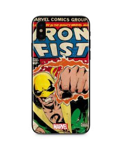 Iron Fist Hero For Hire iPhone XS Skin