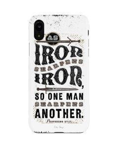 Iron Sharpens Iron iPhone XR Lite Case