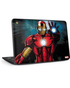 Ironman HP Chromebook Skin