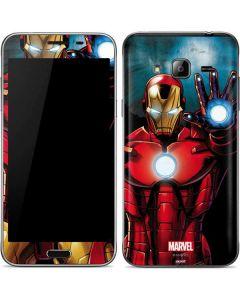 Ironman Galaxy J3 Skin