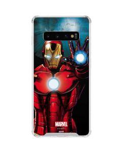Ironman Galaxy S10 Clear Case
